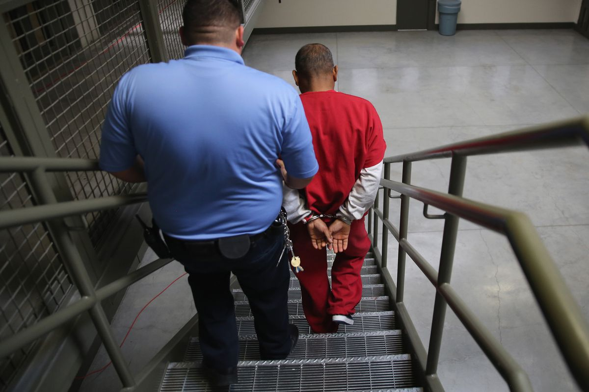 Many ICE detainees are picked up from local jails through Secure Communities.