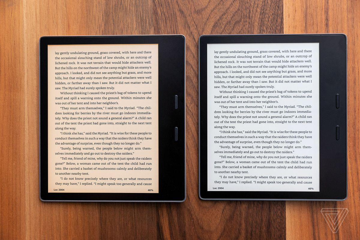 Amazon Kindle Oasis 2019 Review Getting Warmer The Verge