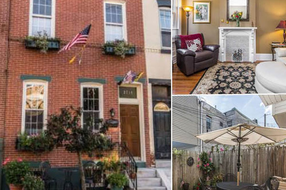 379k Fairmount Townhouse In A Quiet Tree Lined Street