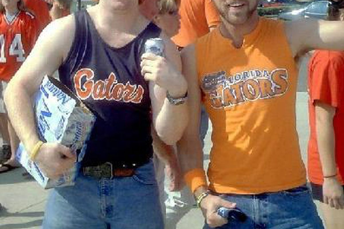 """Want to know why we really dislike the Gators? This tells you everything you need to know. via <a href=""""http://aprilbrunjes.files.wordpress.com/2008/09/gator_fans_2007.jpeg"""">aprilbrunjes.files.wordpress.com</a>"""