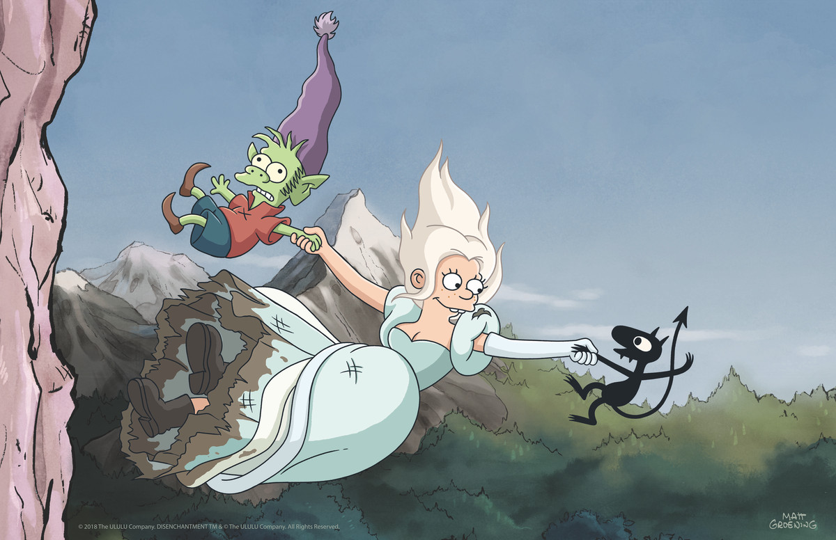 Netflix S Disenchantment Suggests The Messy Future Of