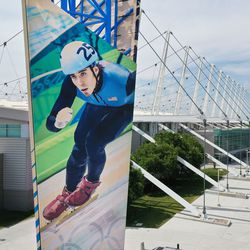 The Utah Olympic Oval in Kearns is pictured on Thursday, June 17, 2021.