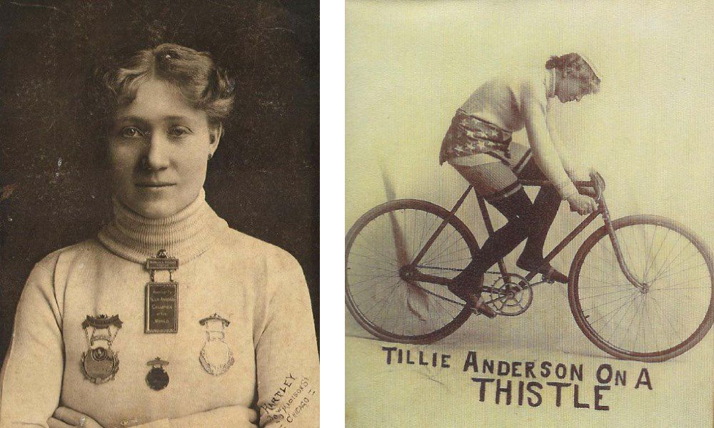 Tillie Anderson, known as Tillie the Terrible Swede