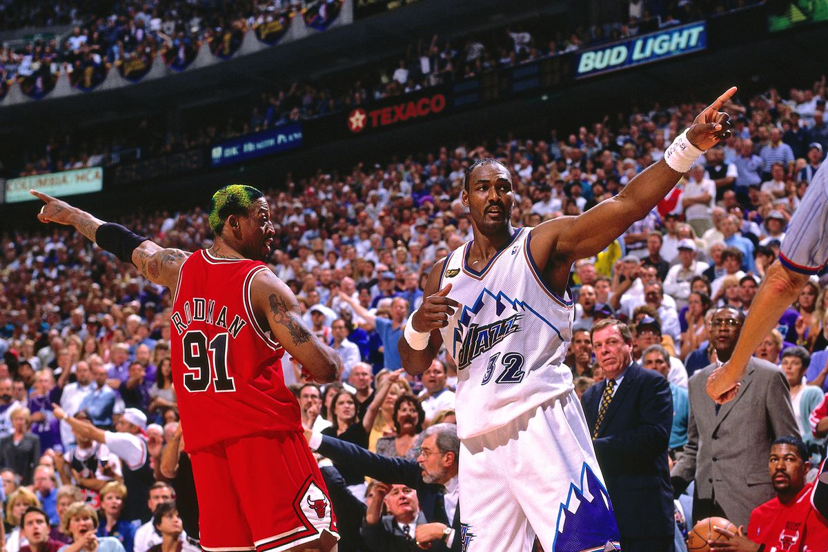1998 Nba Finals Who Would Win Hypothetical Game 7 Between Bulls And Jazz Draftkings Nation
