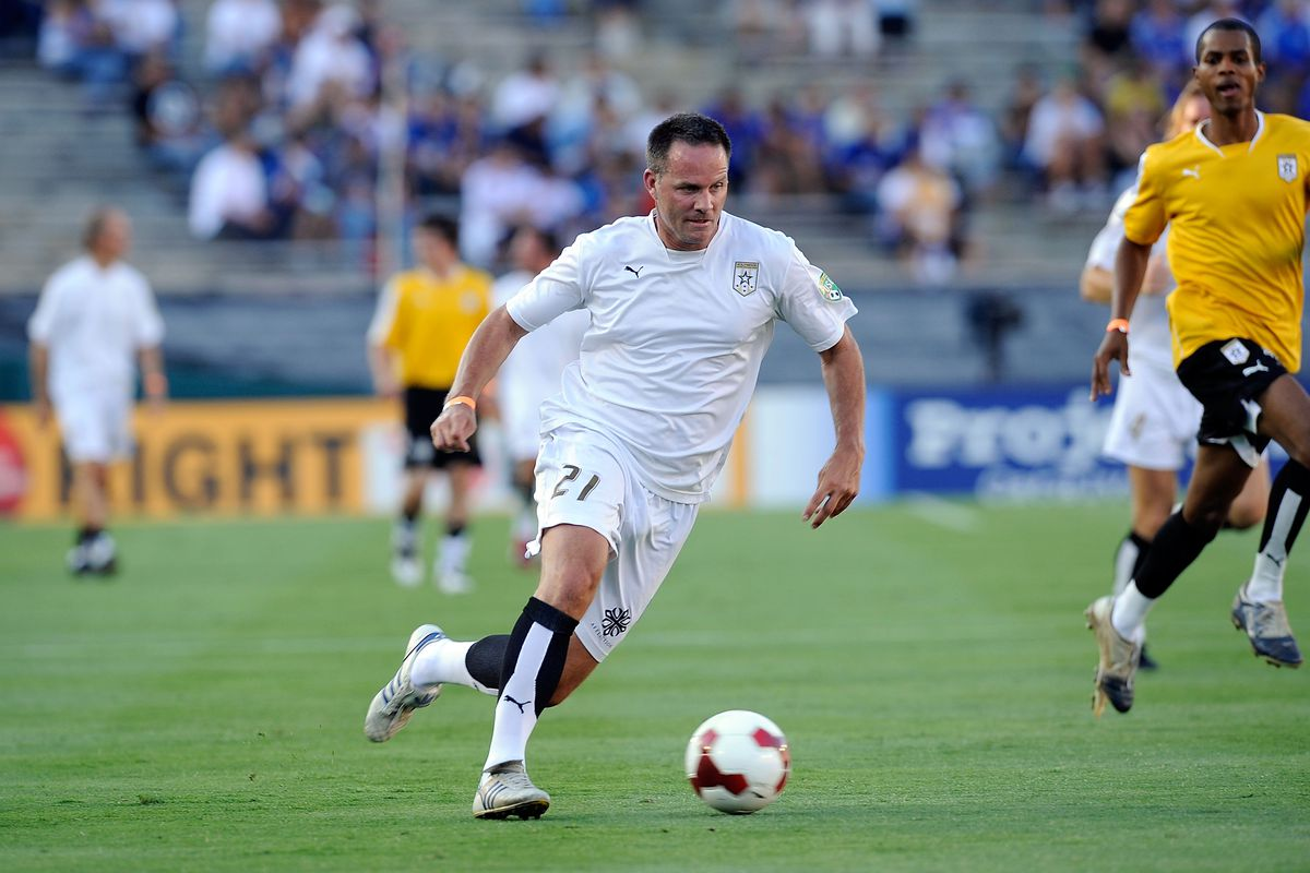 Presumably, Wynalda would not play for the prospective LA team.