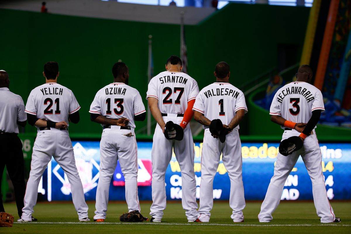 Giancarlo Stanton is going to need the support of his teammates to lift the Marlins to contention in order to win the MVP.