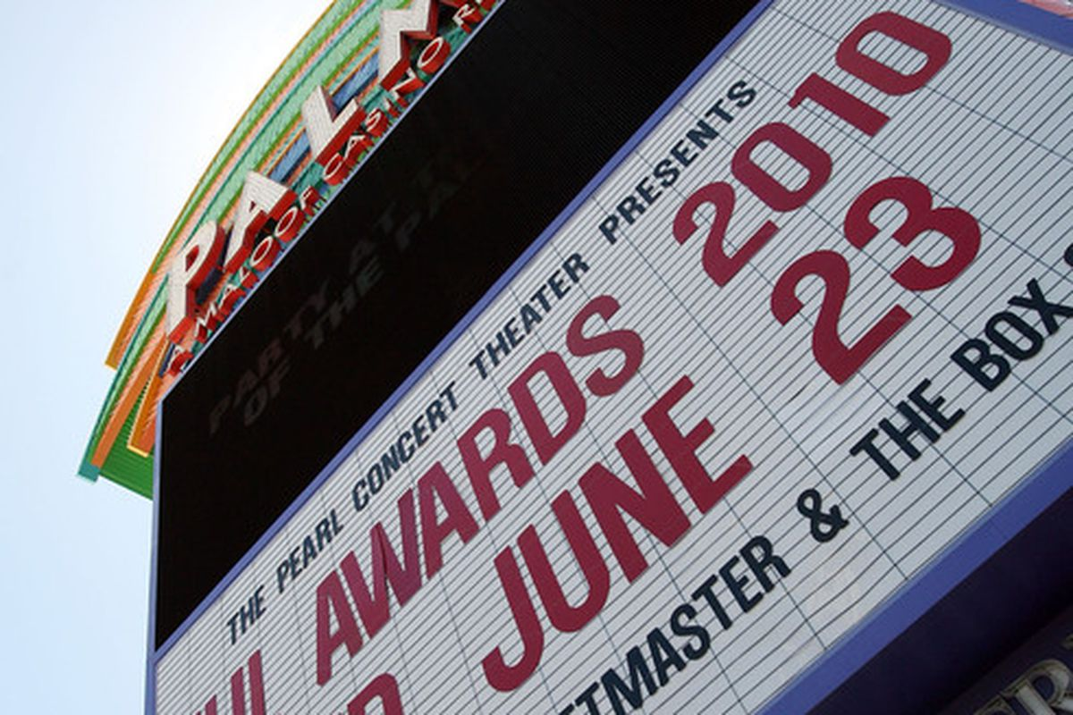 LAS VEGAS - JUNE 22: A general view at the Palms Casino Resort prior to the NHL Awards Ceremony on June 22, 2010 in Las Vegas, Nevada. (Photo by Bruce Bennett/Getty Images)