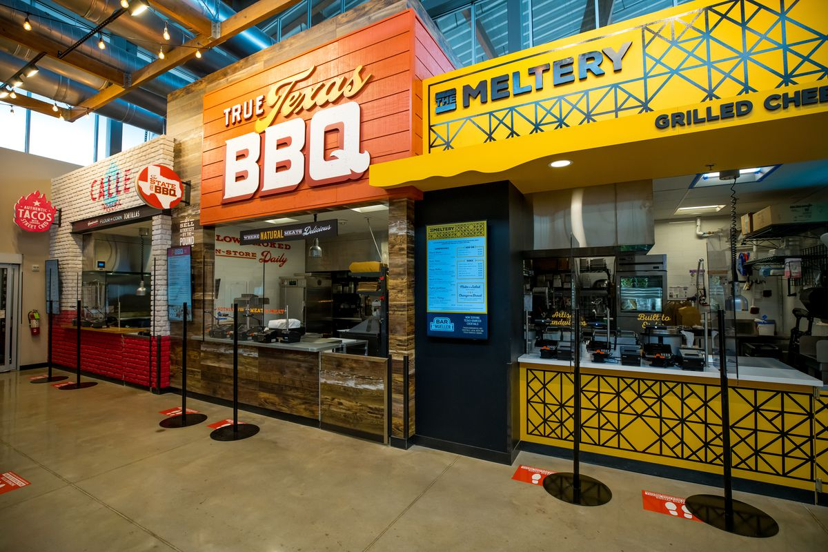 H-E-B's Main Streat food hall