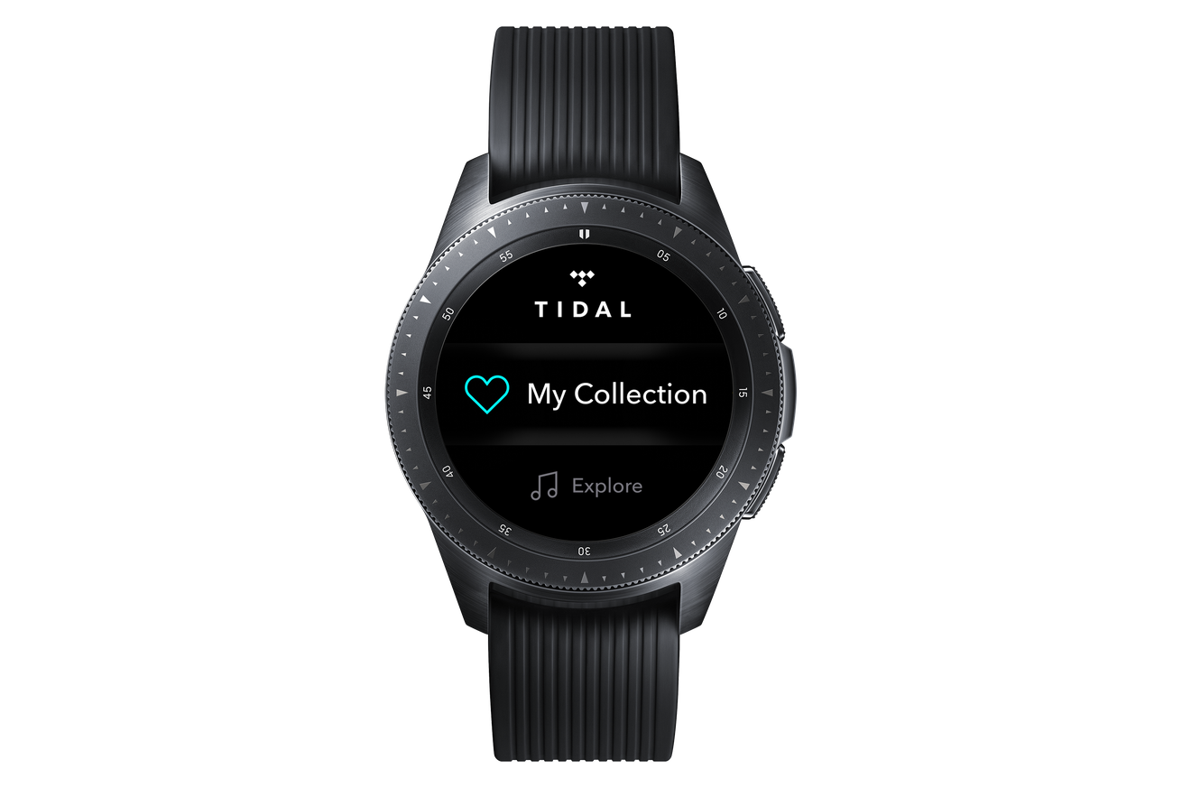 the tidal app is now available on samsung wearable devices