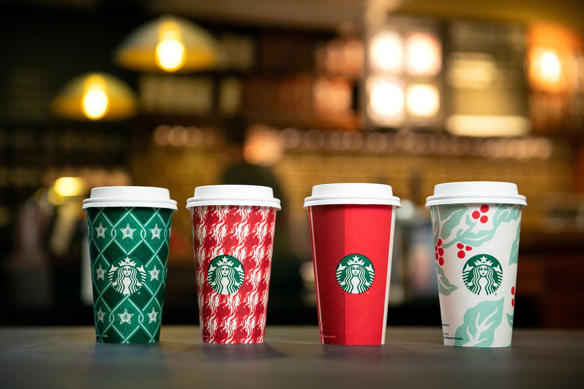Starbucks Christmas.Starbucks Leans Into Christmas And Unveils Four New Holiday
