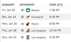 bulls schedule