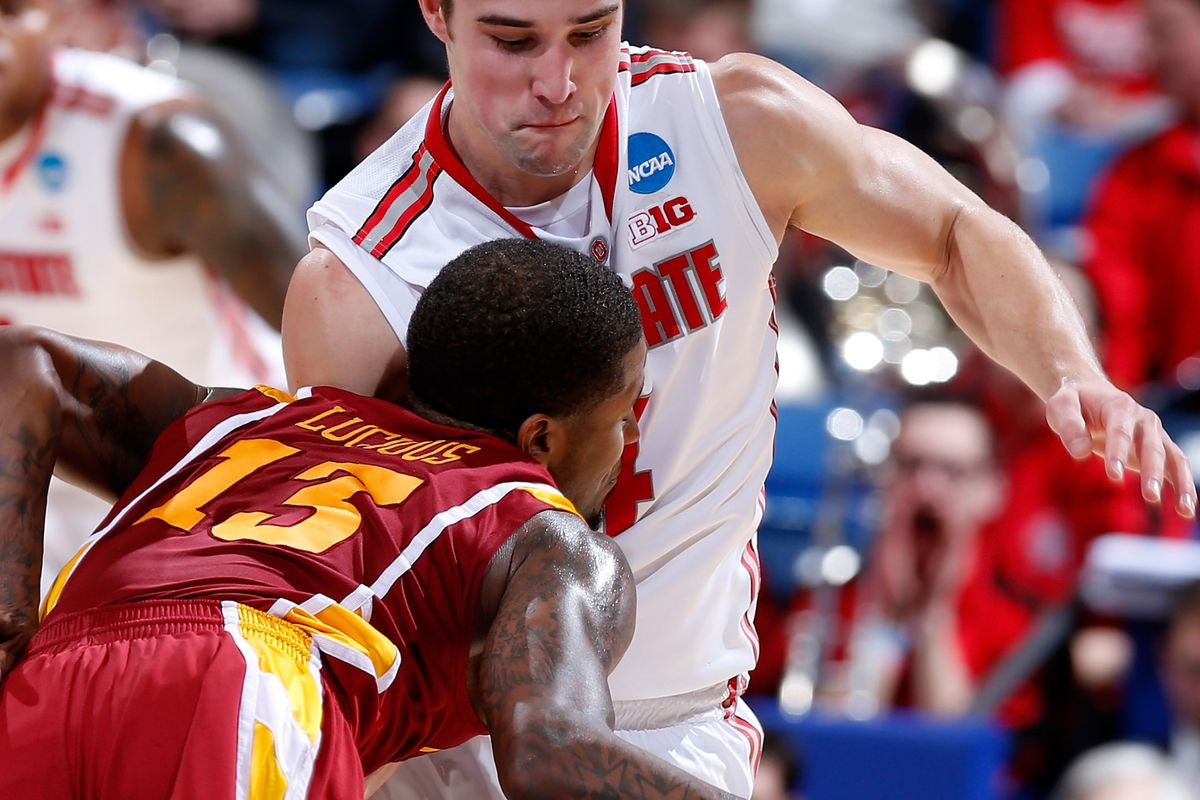 Aaron Craft, doing something half the population hated and the other half loved.