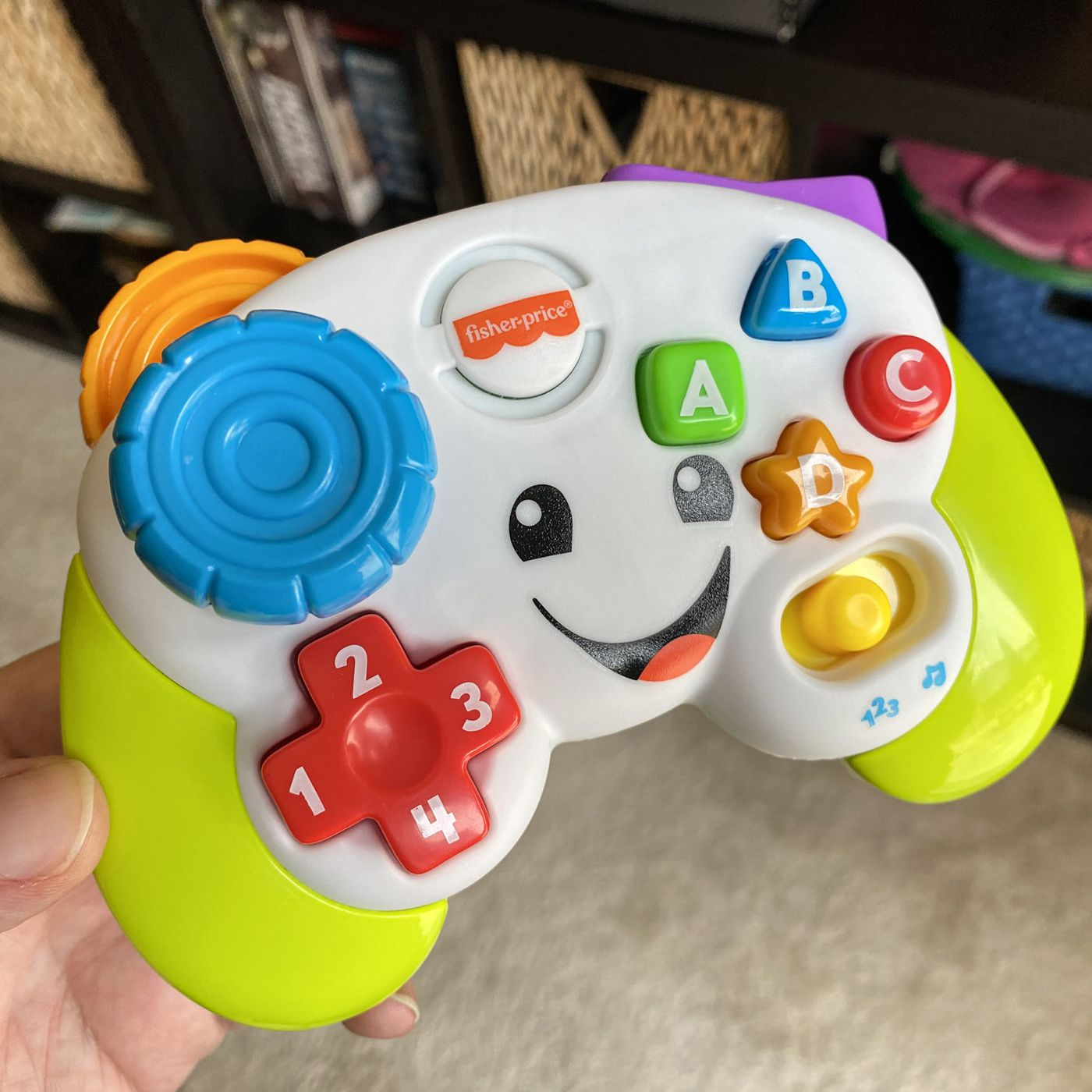 Today I Learned My Baby S Fisher Price Gamepad Accepts The Konami Code The Verge