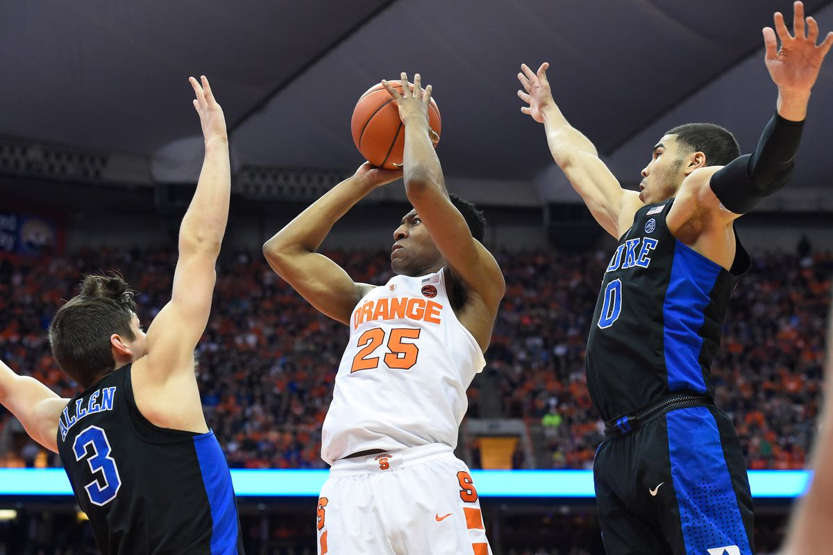 Syracuse Vs. Duke: TV/streaming, Time, Odds, History