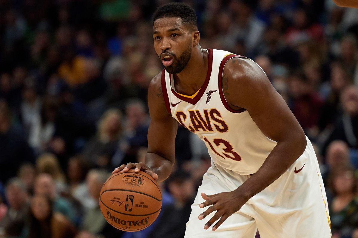 Tristan Thompson of the Cleveland Cavaliers dribbles the ball against the Minnesota Timberwolves during the game on October 19, 2018 at the Target Center in Minneapolis, Minnesota. | Hannah Foslien/Getty Images