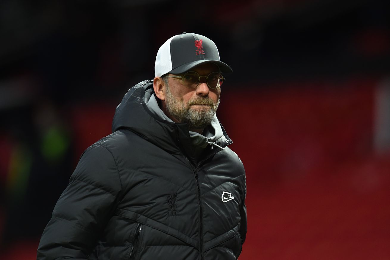 "Jürgen Klopp Says Liverpool ""Needed"" Manchester United Win"