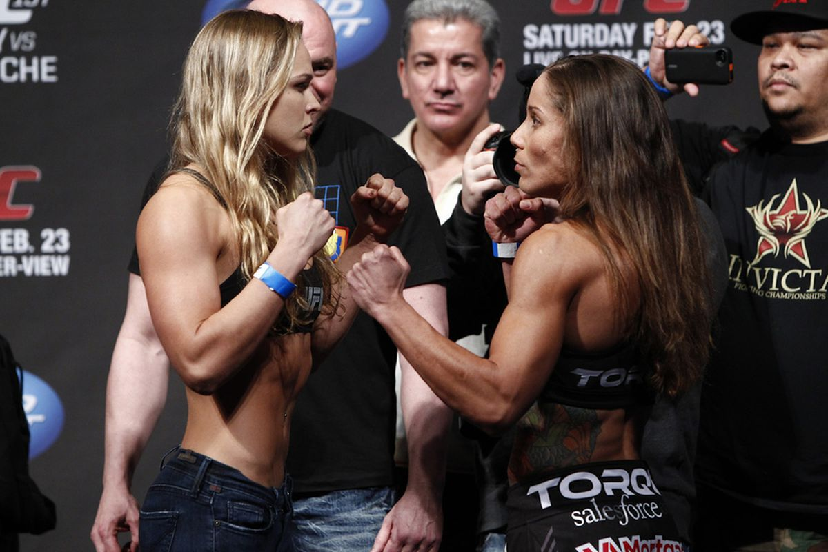 ufc 157 ronda rousey vs liz carmouche preview and the