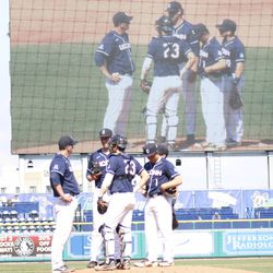 The Tulane Green Wave take on the UConn Huskies baseball team at Dunkin Donuts Park in Hartford, CT on April 28, 2018.