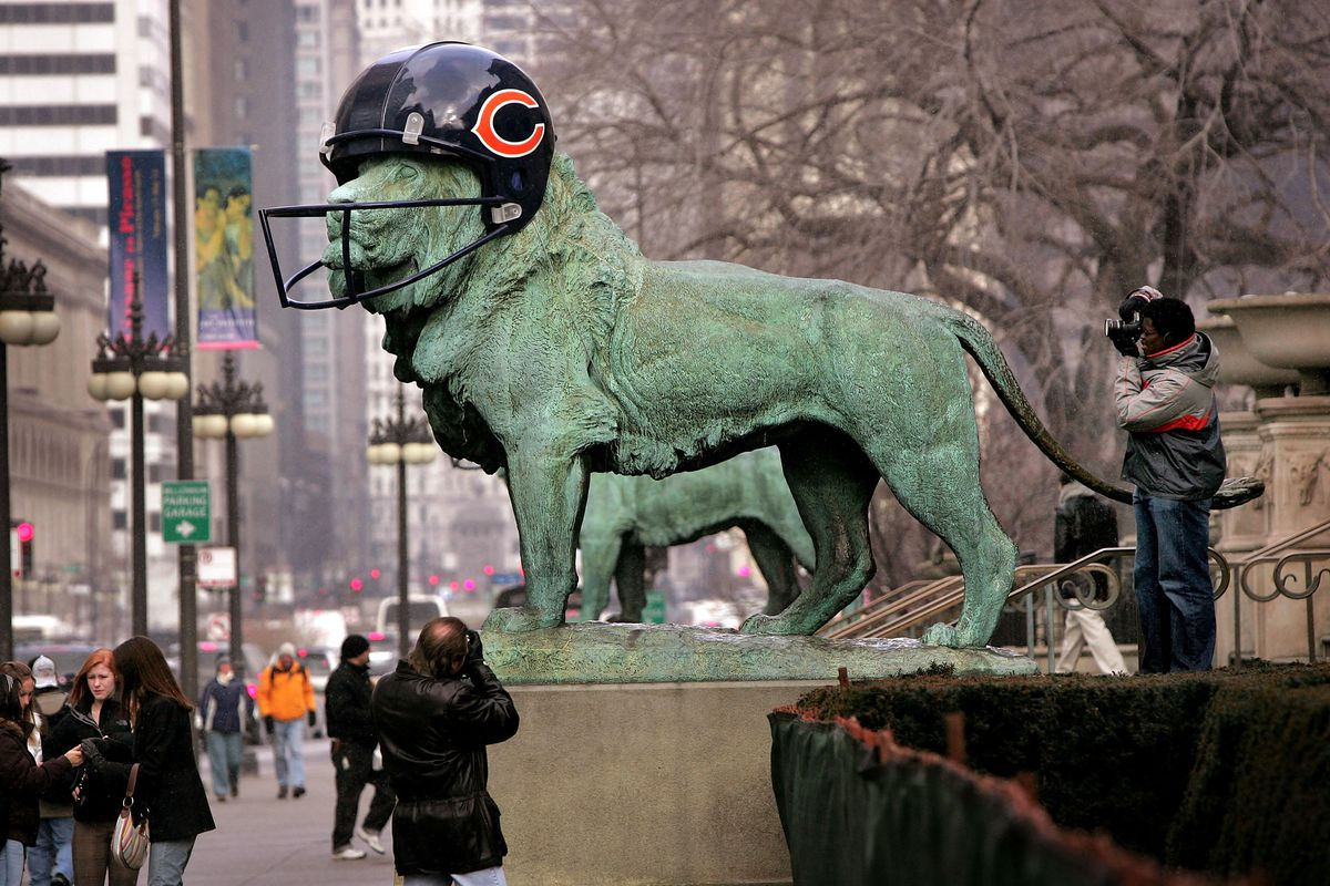 City Of Chicago Gears Up For Super Bowl