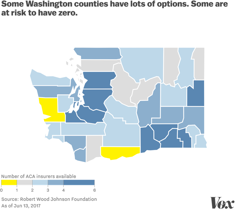 You Can See That Some Counties Like Those Surrounding The Seattle Area Have Strong Compeion Others In More Rural Areas Along The Pacific Coast And The