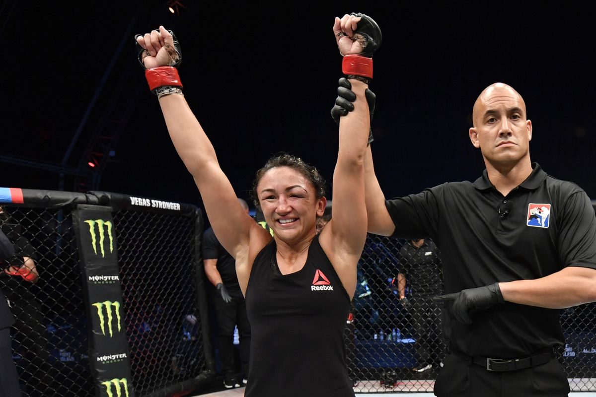 Carla Esparza will fight Yan Xiaonan at UFC event in May.