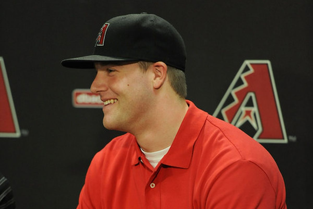 Archie Bradley took a shutout in to the 8th inning.
