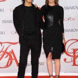 Alexander Wang and Carine Roitfeld