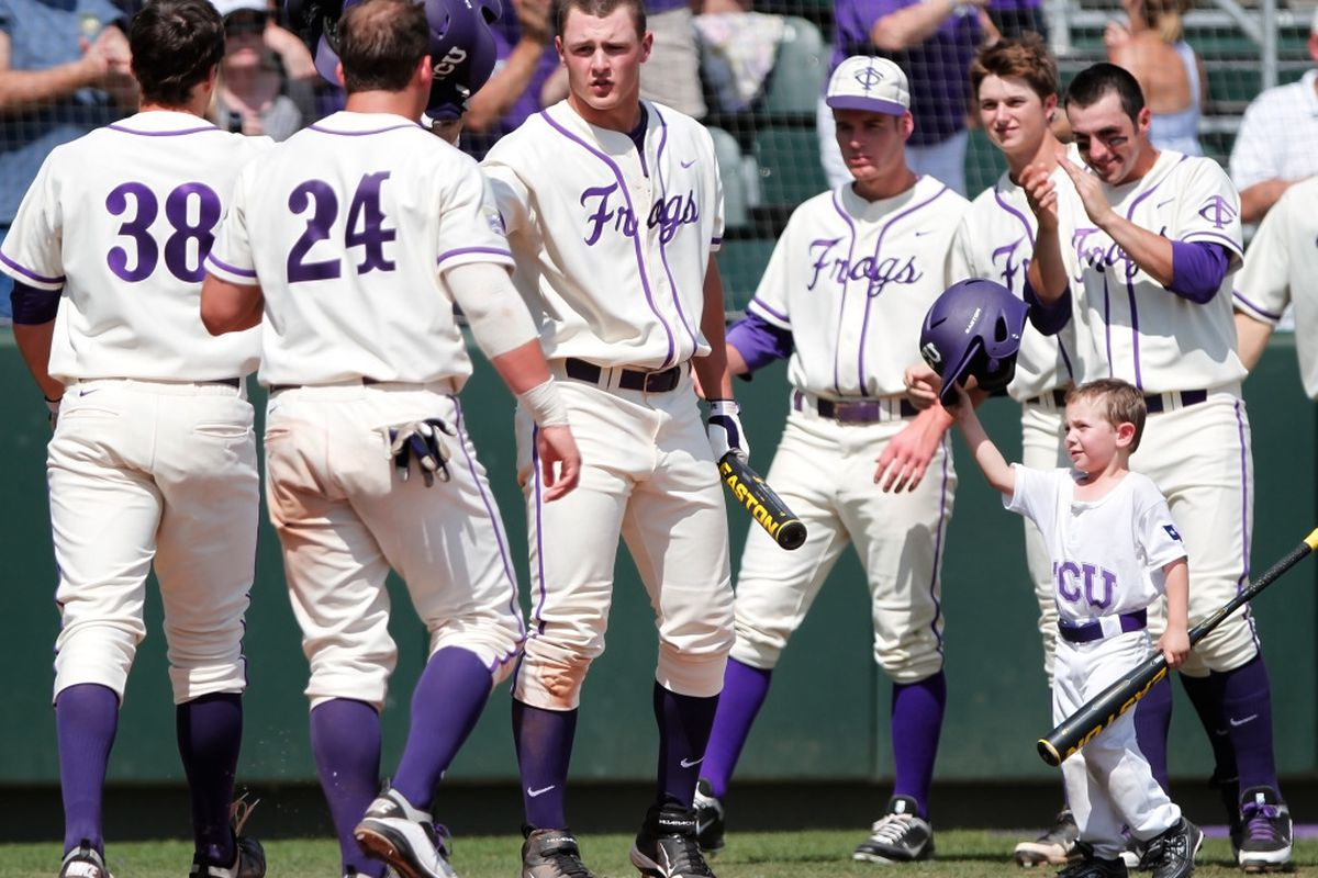 """TCU Baseball is getting ready for this seasons crucial push. <a href=""""http://keithr.zenfolio.com/p1051806119/h370f3bb9#h370f3bb9"""" target=""""new"""">PHOTO BY KEITH ROBINSON</a>"""