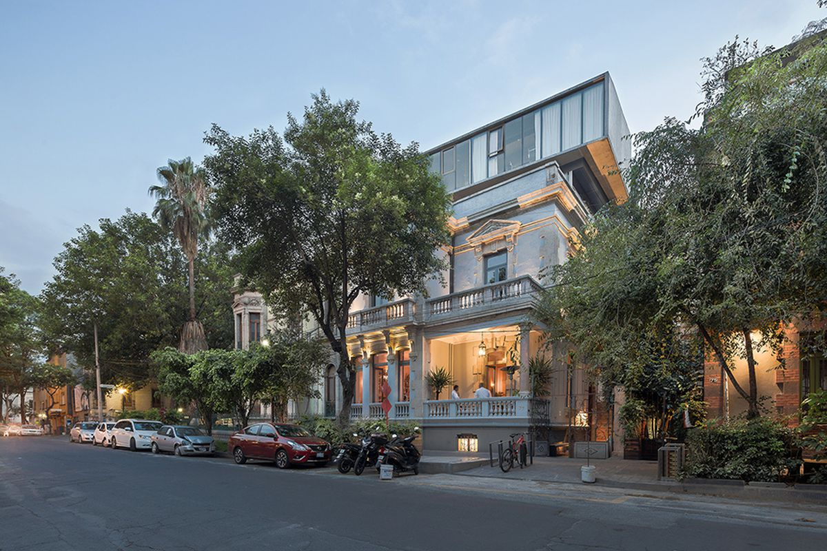 Gorgeous 1800s Mansion Becomes Sleek Offices Apartments In Mexico City