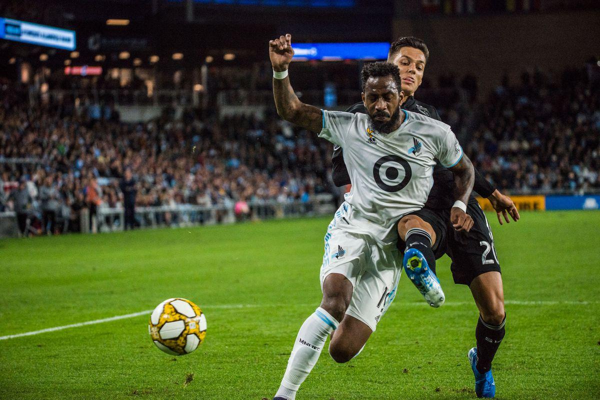 September 25, 2019 - Saint Paul, Minnesota, United States -An MLS match between Minnesota United and Sporting Kansas City at Allianz Field (Photo: Tim C McLaughlin)