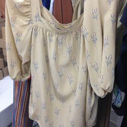 No. 6 silk top, $88.50 (was $295)