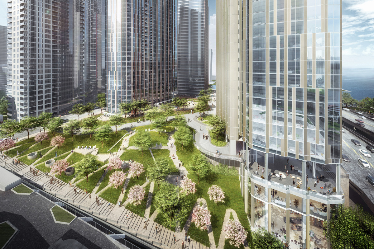 Three Towers Planned For Chicago S Lakeshore East Will Not Move