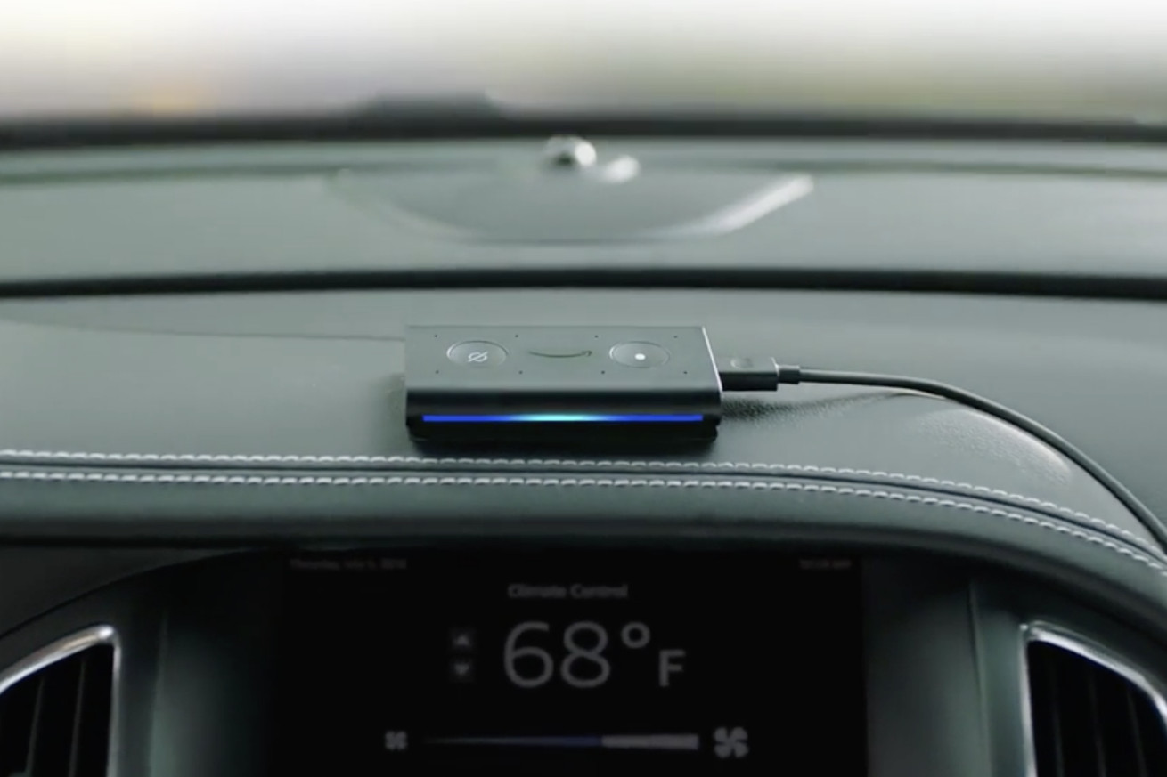 amazon s echo auto is another quick fix for the broken state of in car infotainment