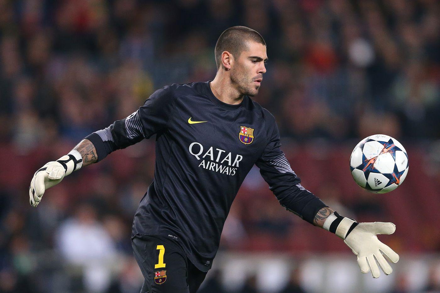 Victor Valdes Balik lagi Mengabdi untuk Barcelona