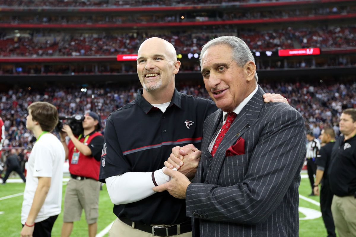 Like It Or Not Arthur Blank May Give Dan Quinn One More Chance The Falcoholic