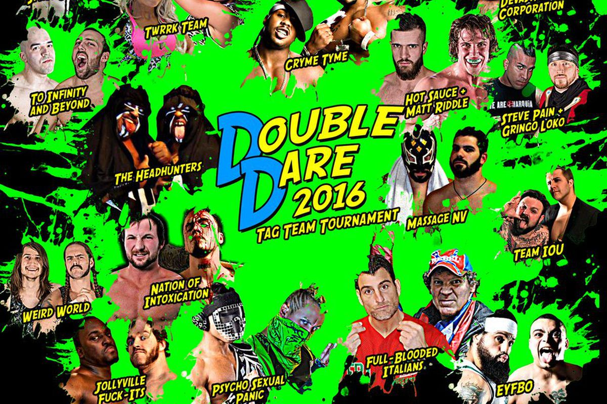 Poster for AIW Double Dare 2016