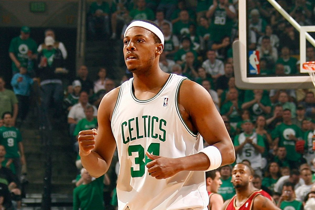 d267d87e4 Paul Pierce s number 34 will be retired by the Boston Celtics on Sunday. SB  Nation NBA writer Paul Flannery looks back at his most important game.