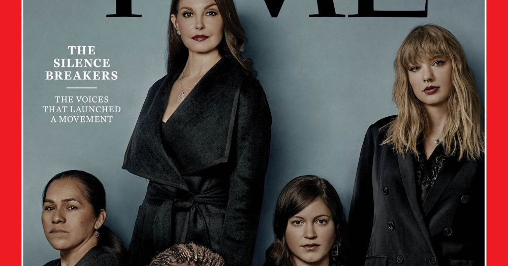 time�s 2017 person of the year is the �silence breakers