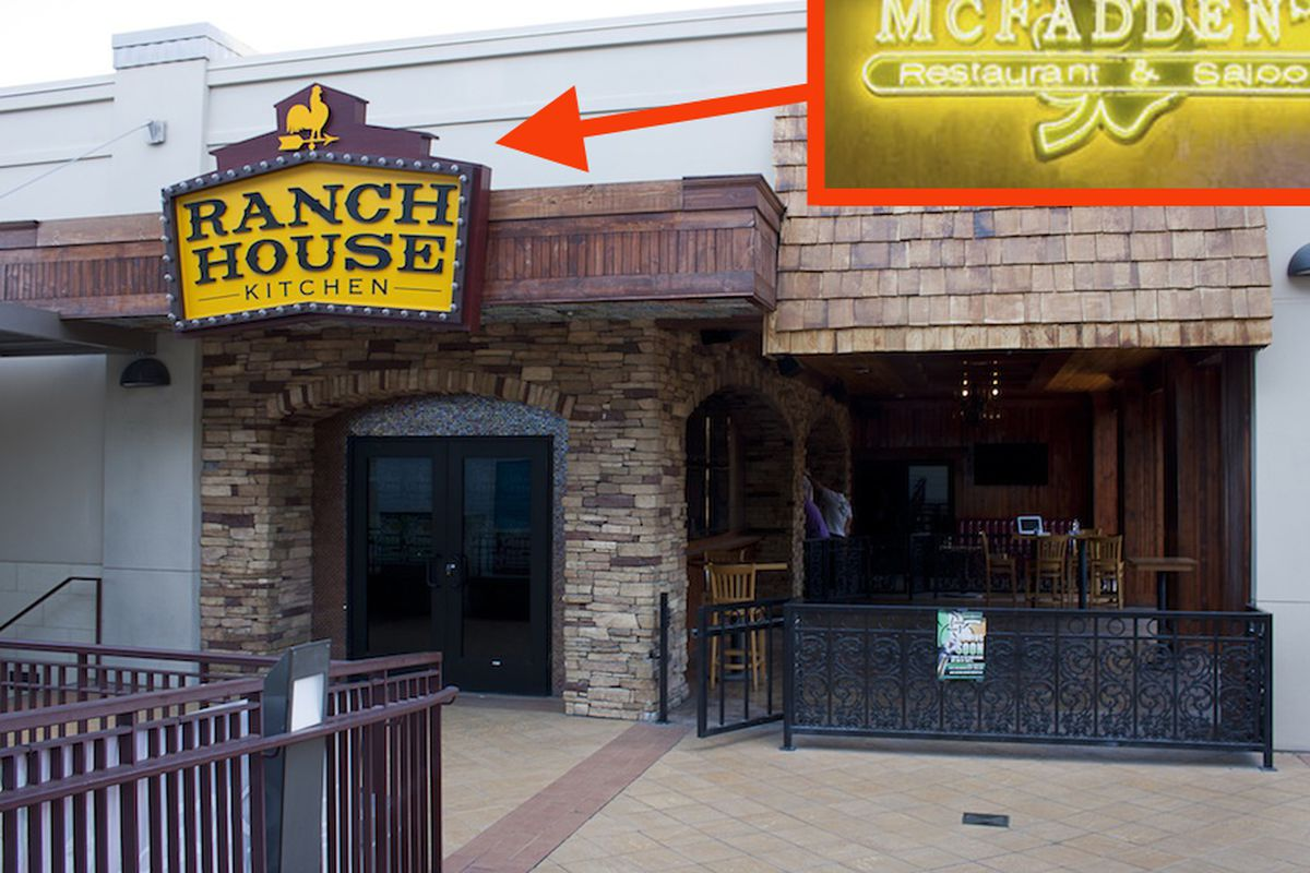 The future home of McFadden's Saloon