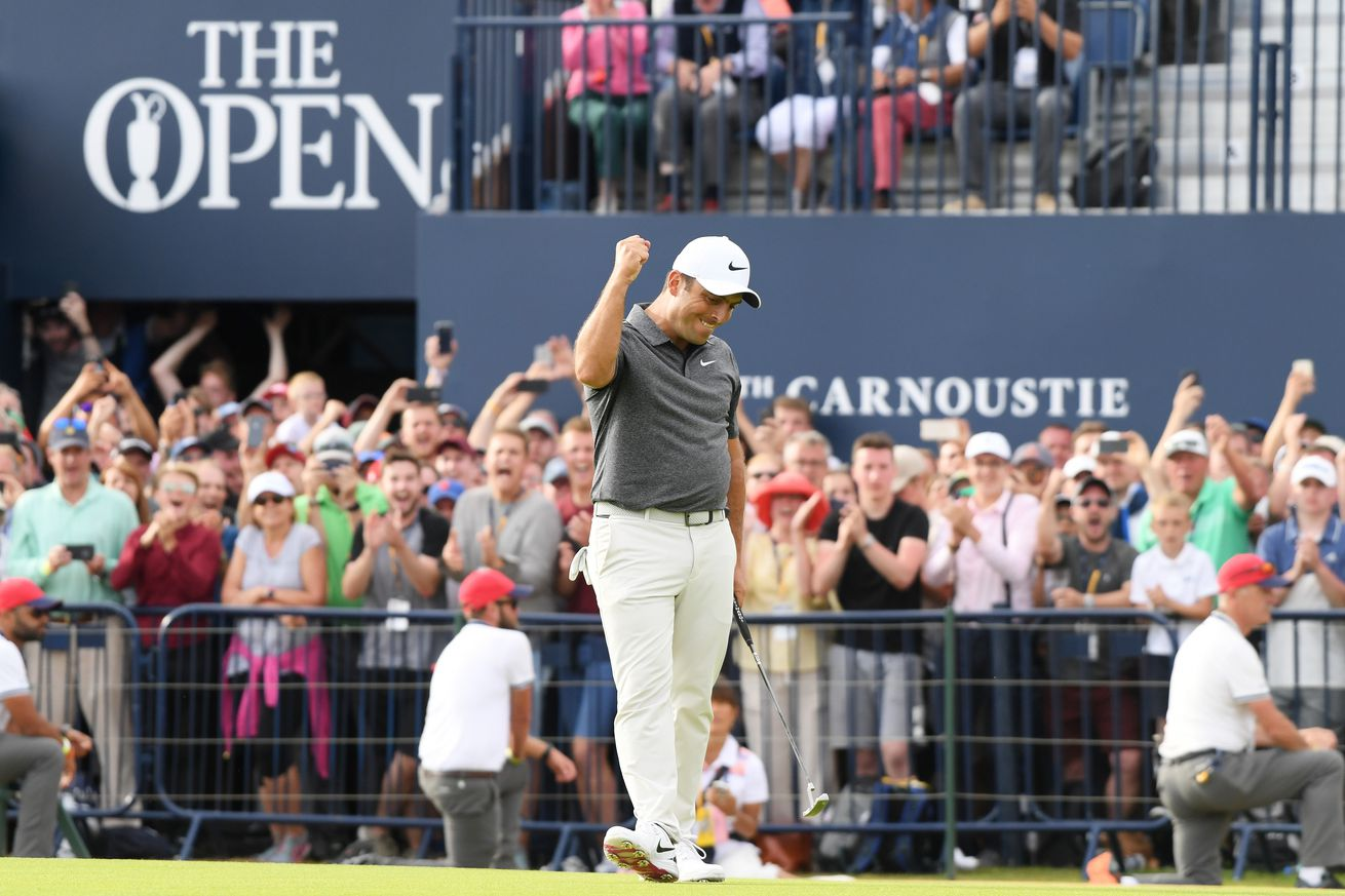 The best player in the world this summer won The Open with the day's best shot