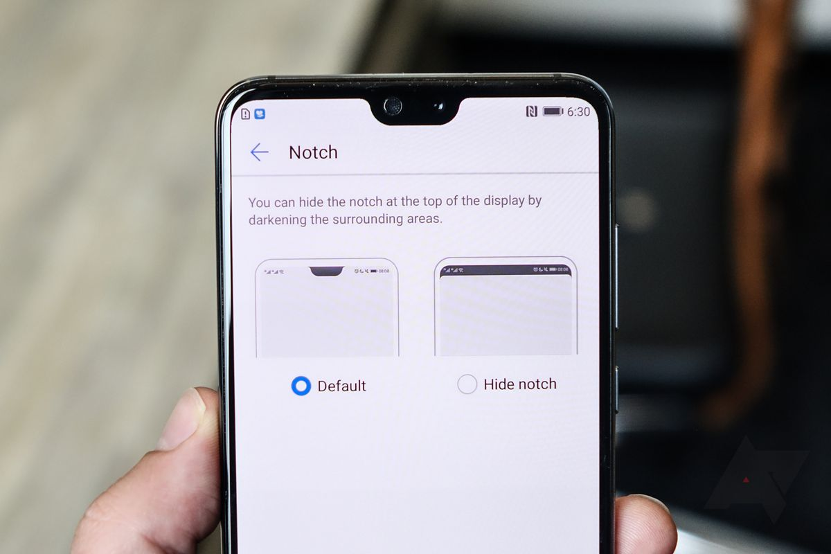 You can turn off the notch on the Huawei P20 - The Verge