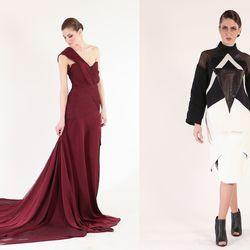 Left Designer: Kimberly Nowers; Photographer: Swaine / Right Designer: Nicole Jimenez, 2014; Photographer: Yoshioka