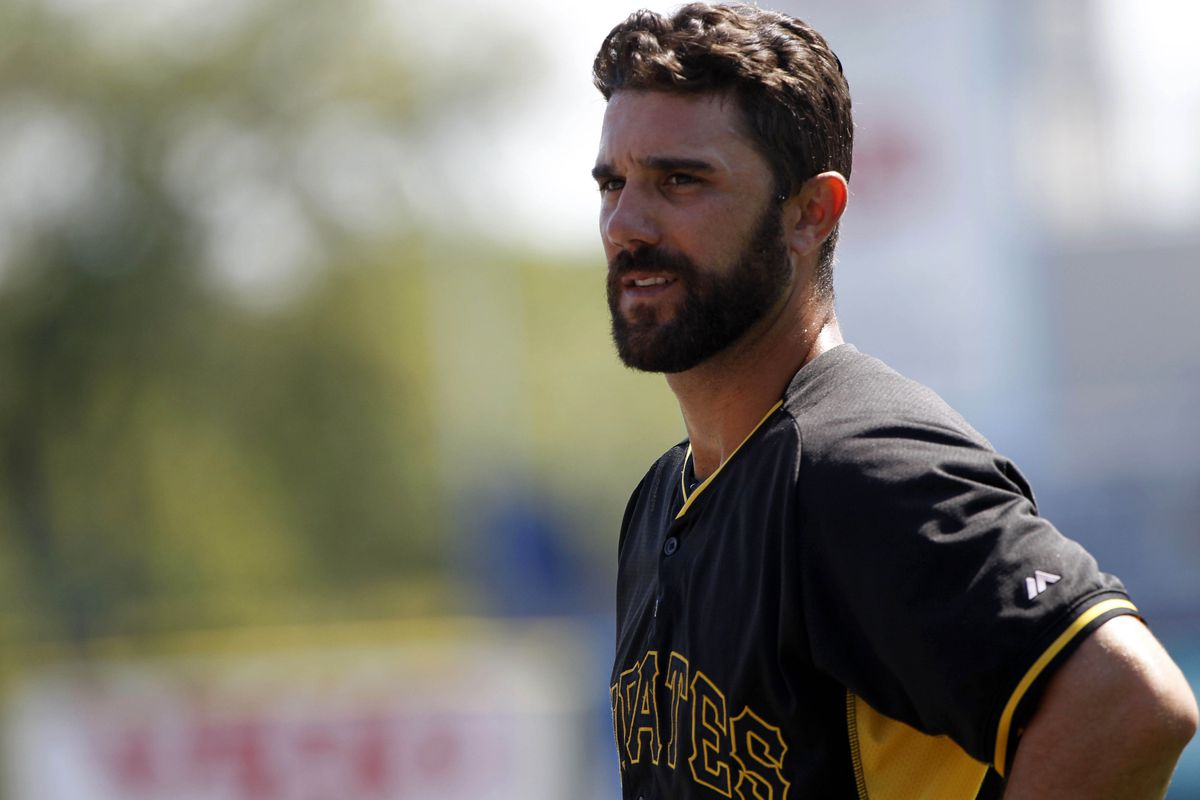 Andrew Lambo, pictured at Pirates spring training.
