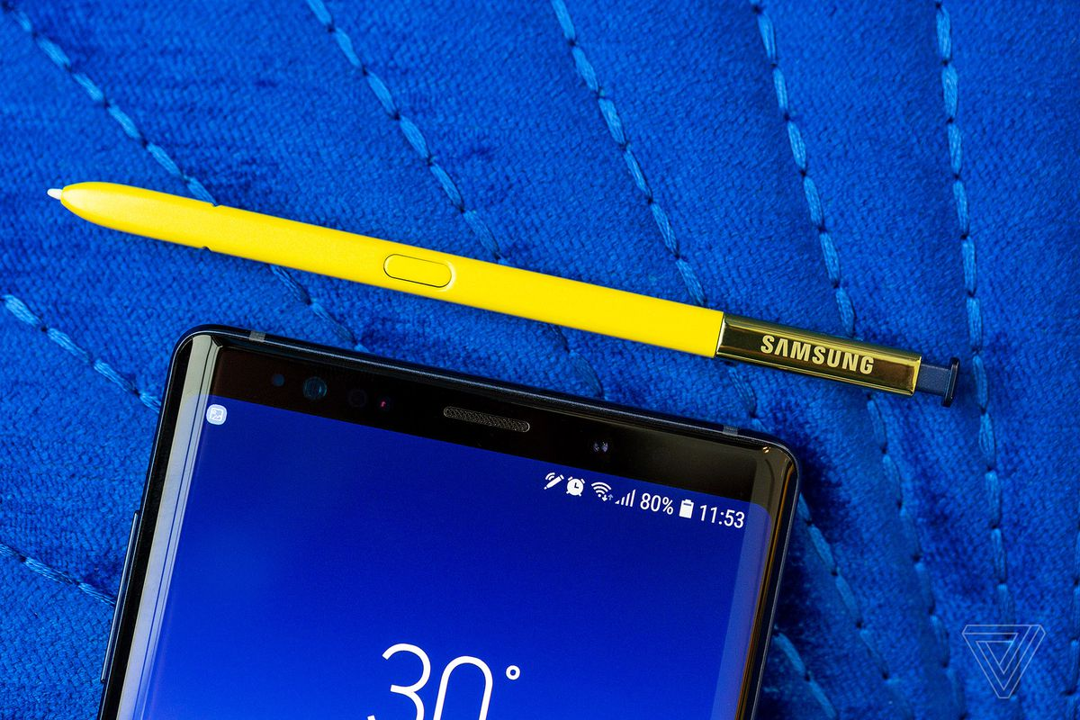 Samsung Galaxy Note 9 announced with 6 4-inch screen and a
