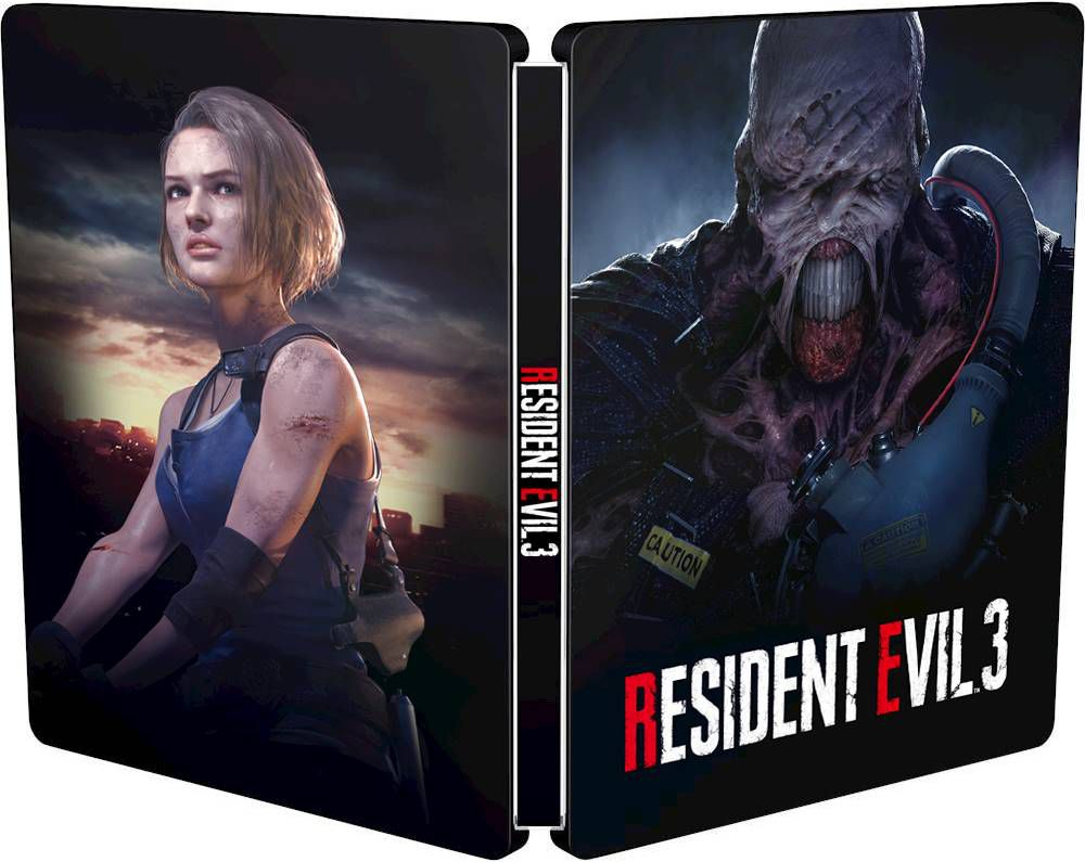 The official case of BestBook's exclusive BestBook for Resident Evil 3