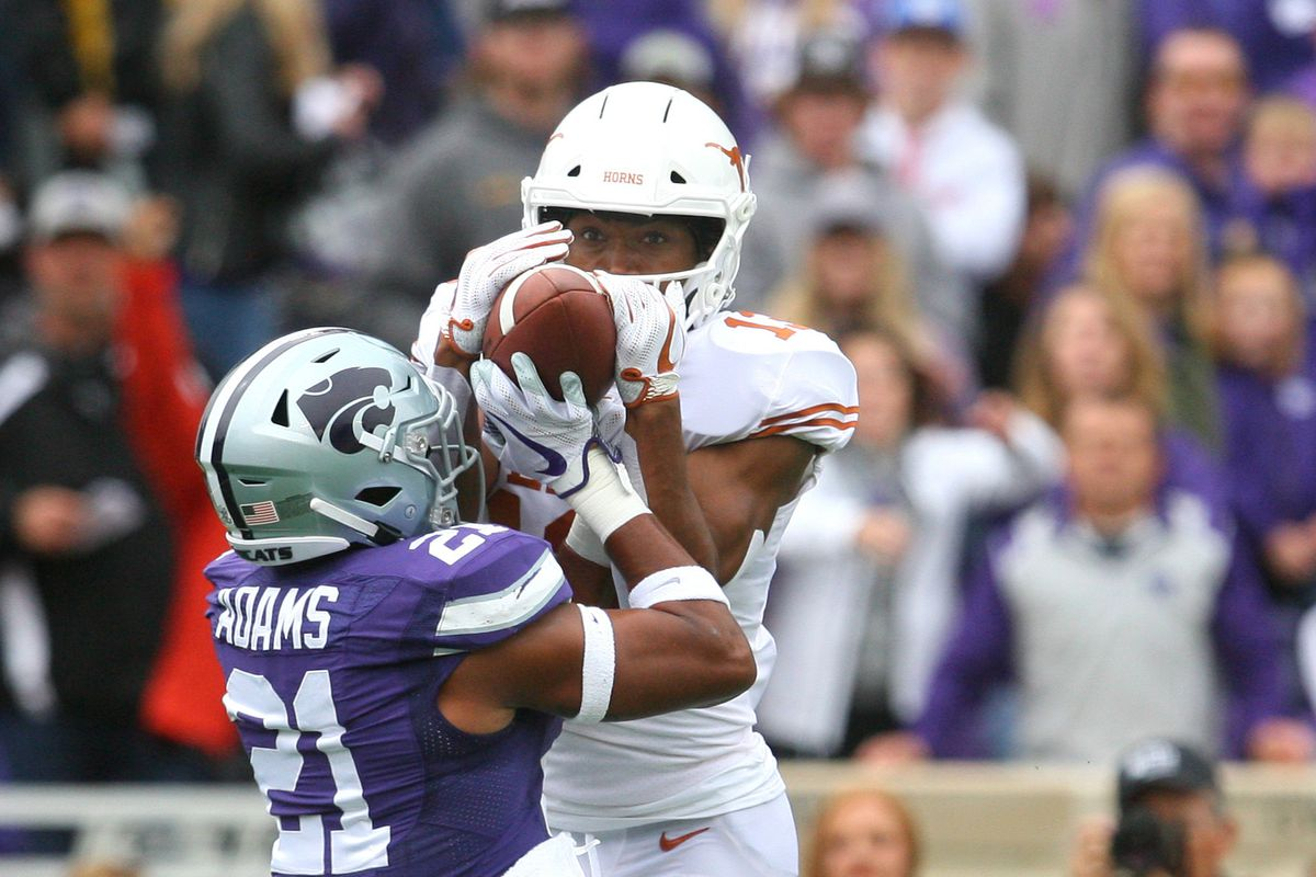 This was literally the best K-State play of the entire half. Congrats, Kendall Adams.