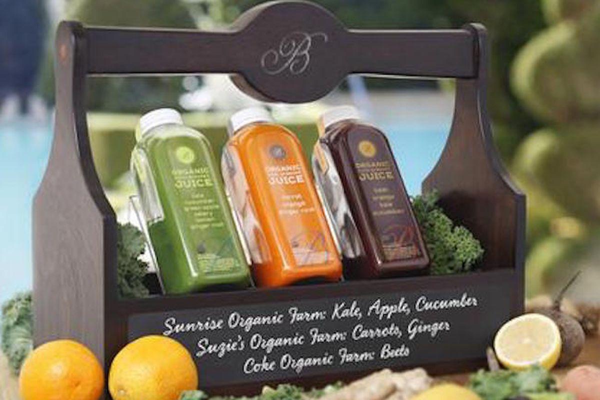 Bellagio's new cold-pressed juices