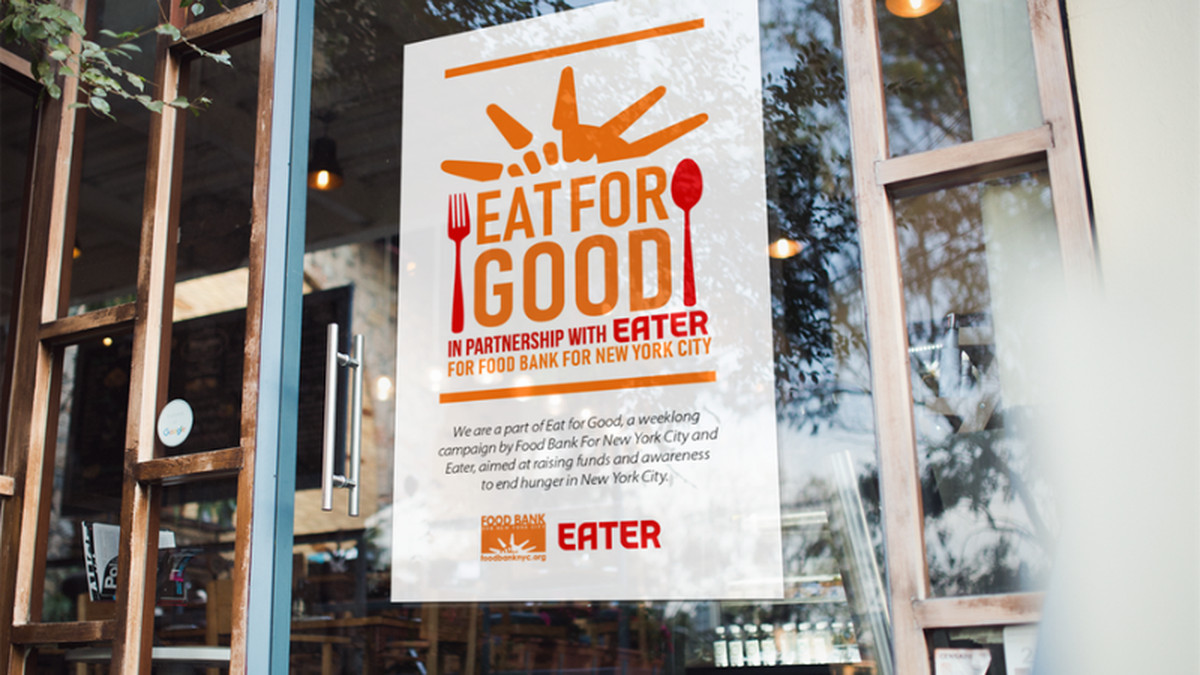 Join Eater And Food Bank For New York City To Fight Hunger