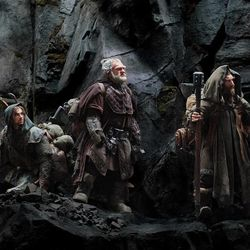 """A scene from """"The Hobbit: An Unexpected Journey."""""""