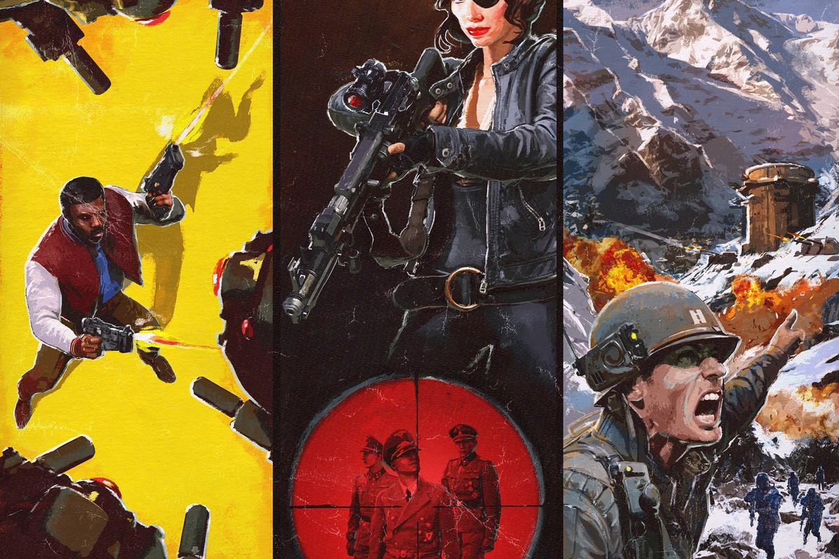 wolfenstein 2: the freedom chronicles dlc artwork